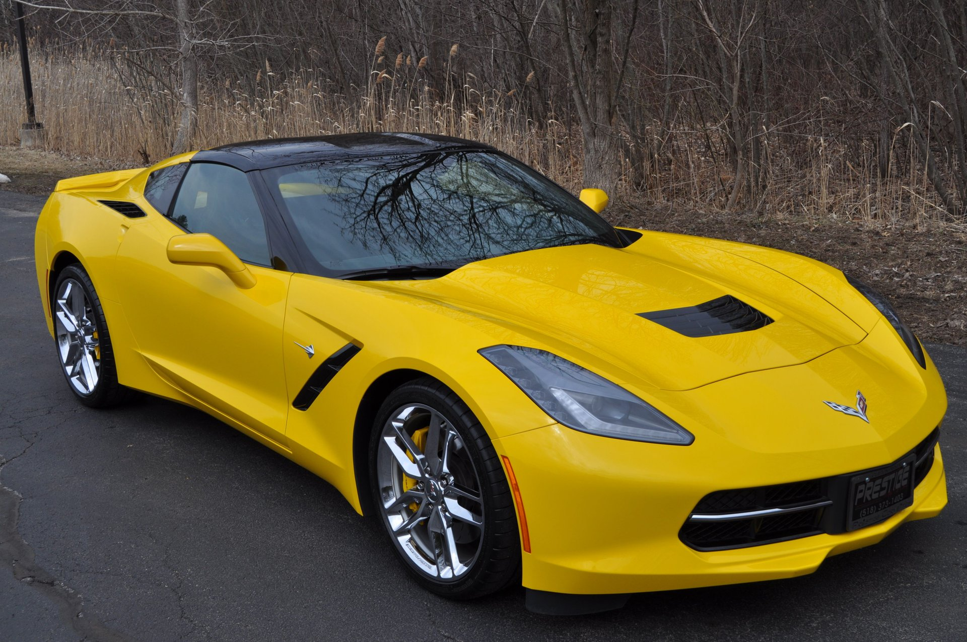 2014 chevrolet corvette stingray 2dr z51 cpe w 3lt