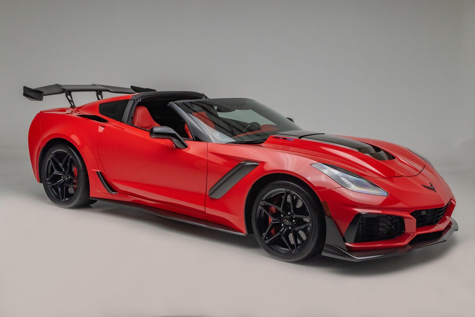 2019 chevrolet corvette zr1 supercharged