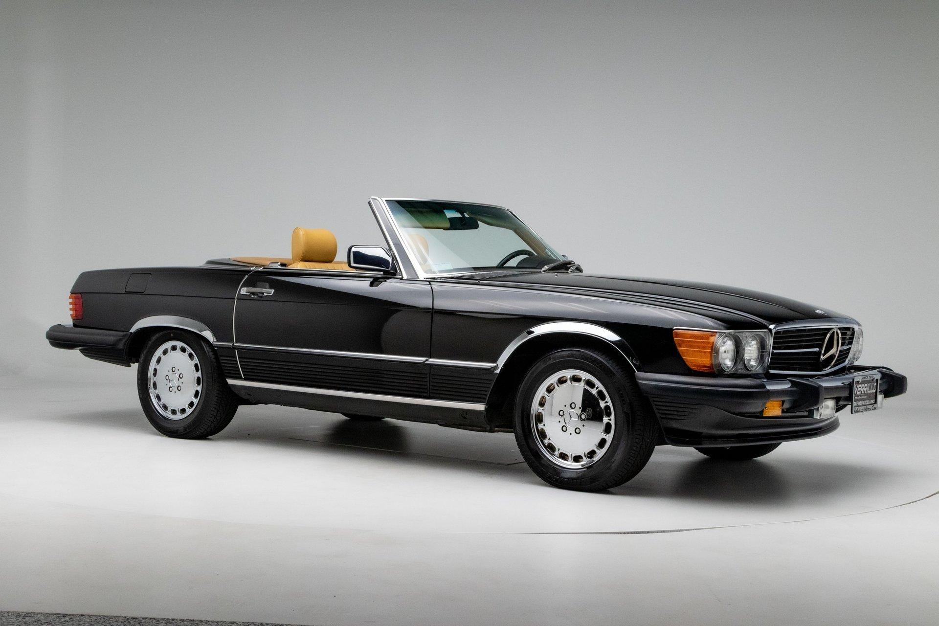 1987 mercedes benz sl class 560sl