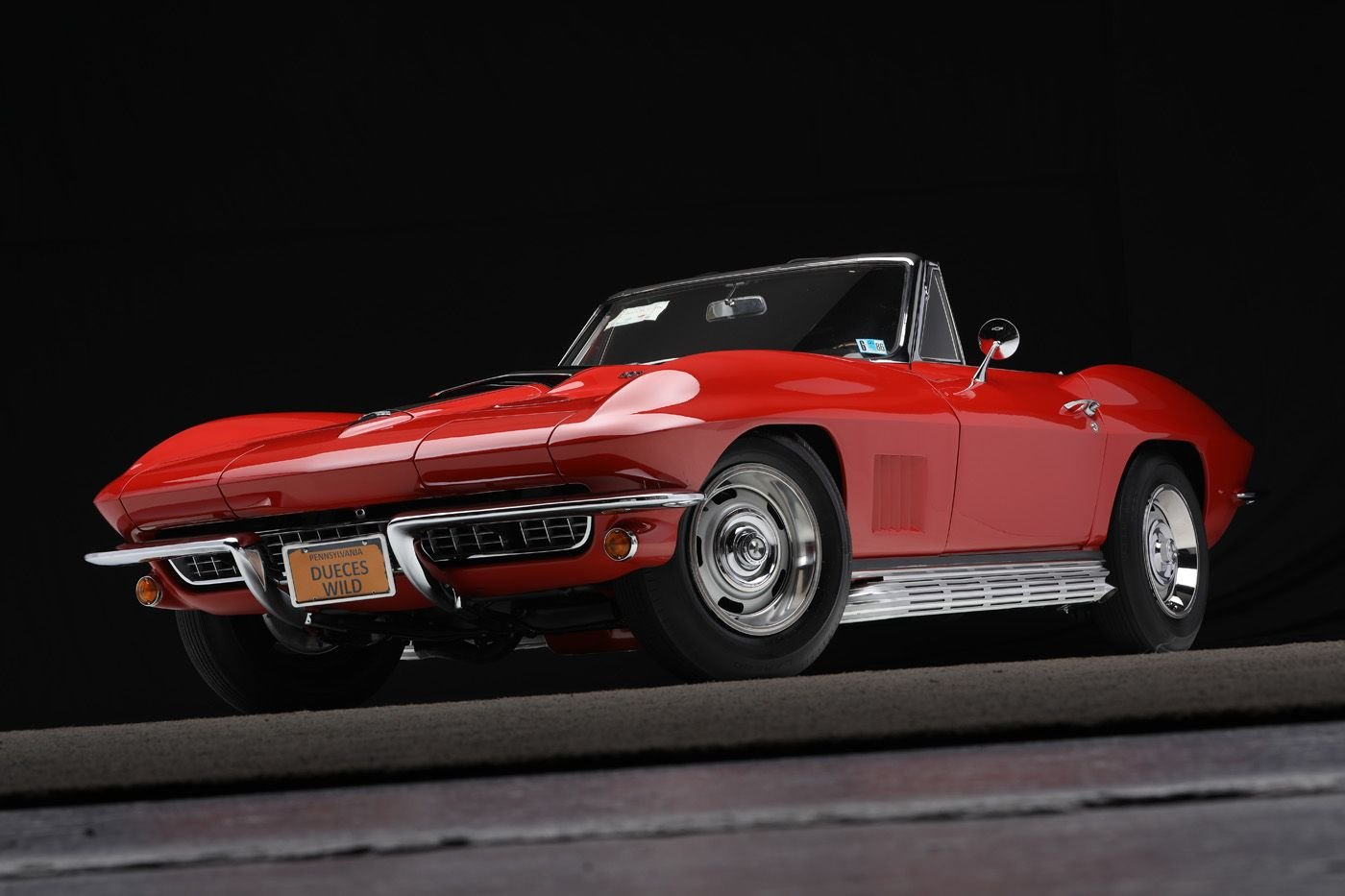 1967 chevrolet corvette convertible 435 hp l 71