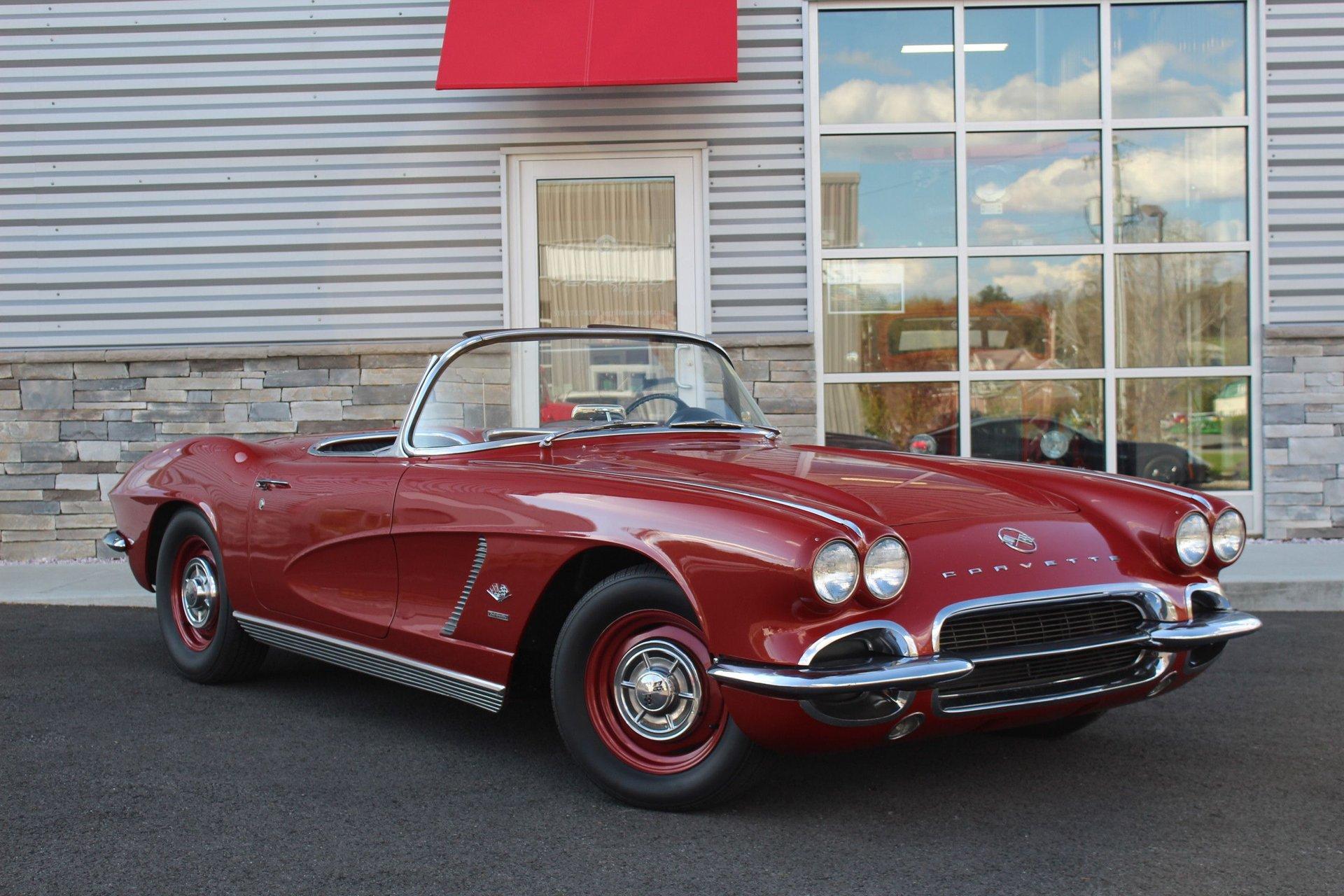 1962 chevrolet corvette convertible fuel injection