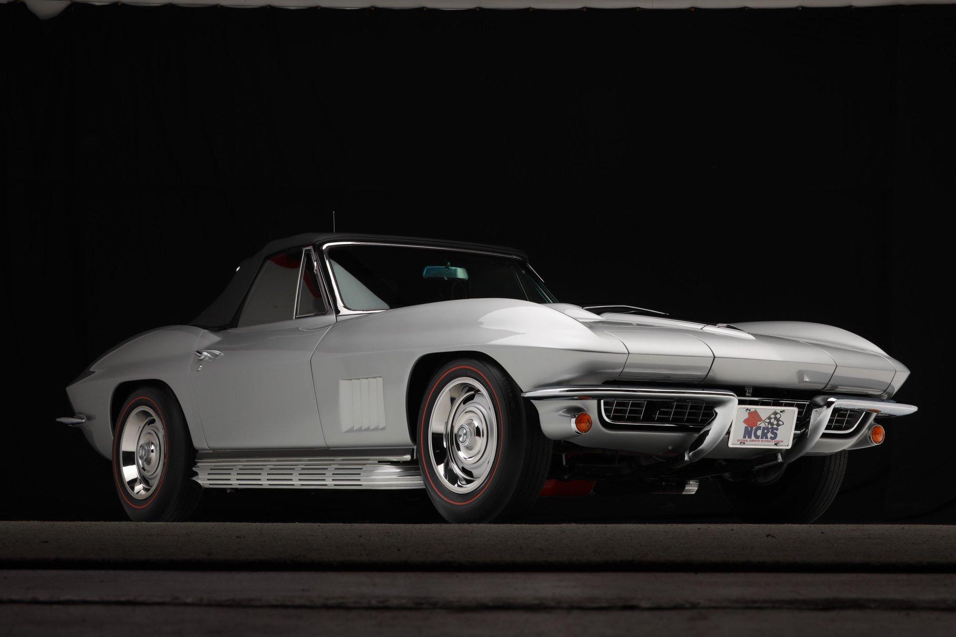 1967 chevrolet corvette oem documented 435 hp