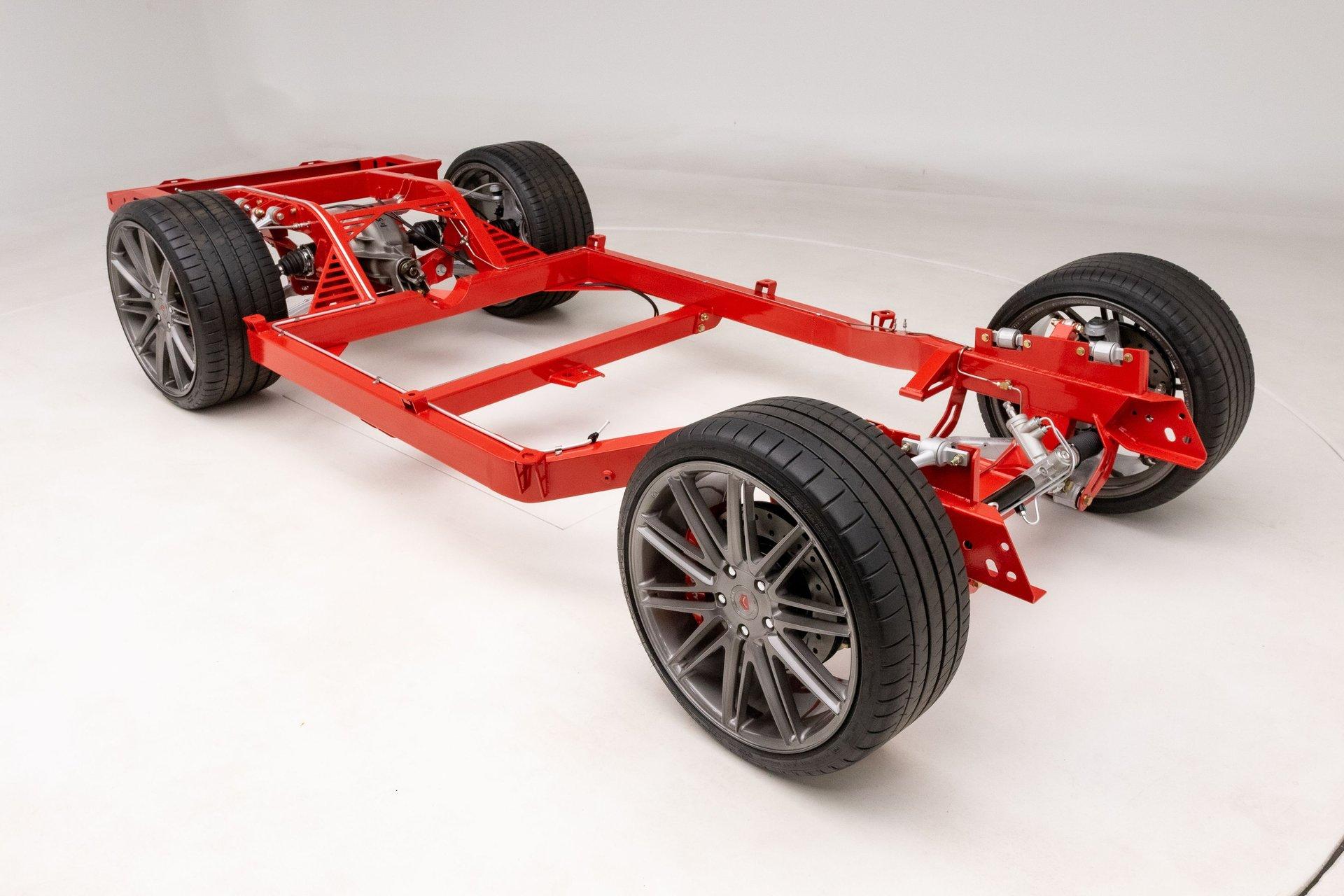 1963 1967 chevrolet corvette c 7 suspension resto mod chassis