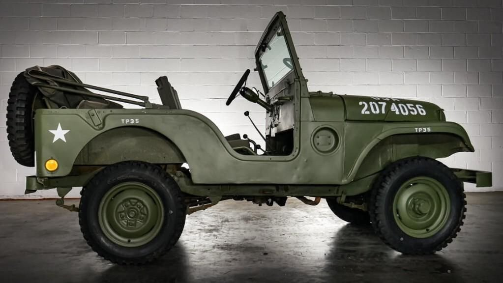 1954 JEEP WILLYS M38A