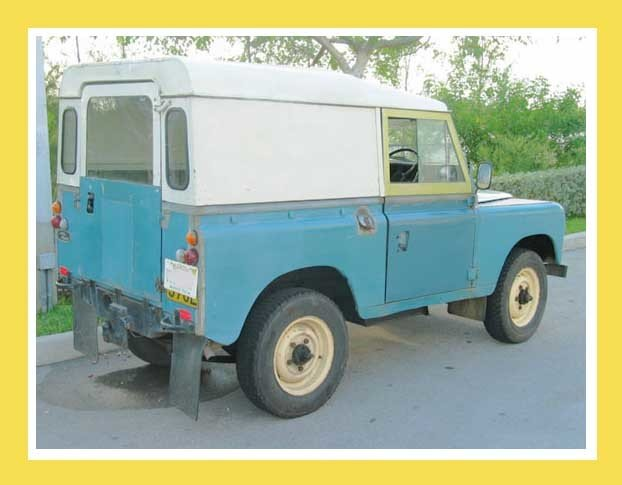 1972 Land Rover SERIES III 88