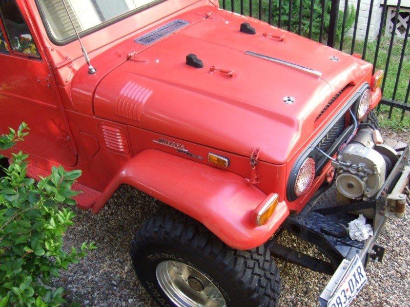 1971 TOYOTA LHD FJ40 STOCK HARD TOP