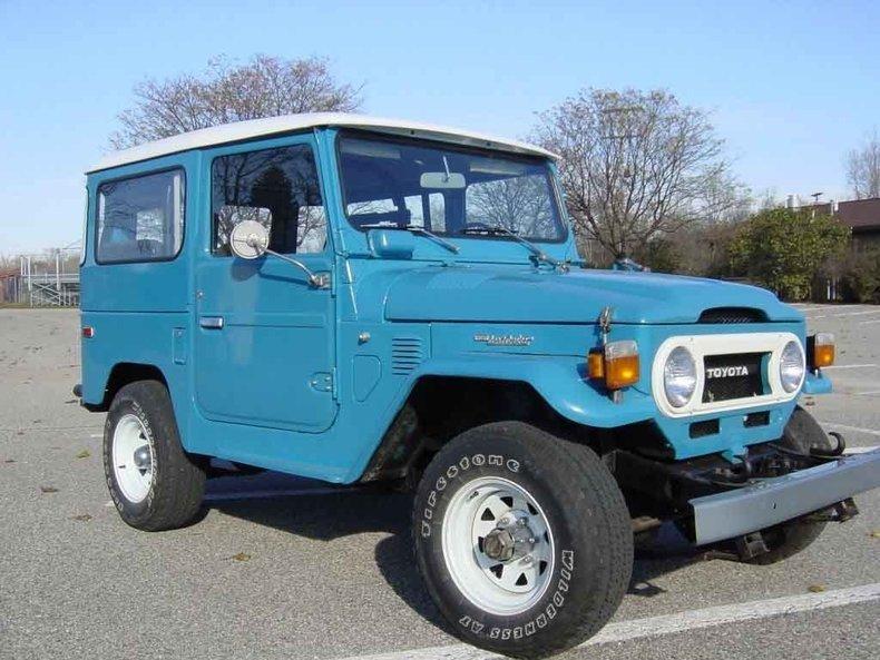 1976 TOYOTA Restored! FJ40