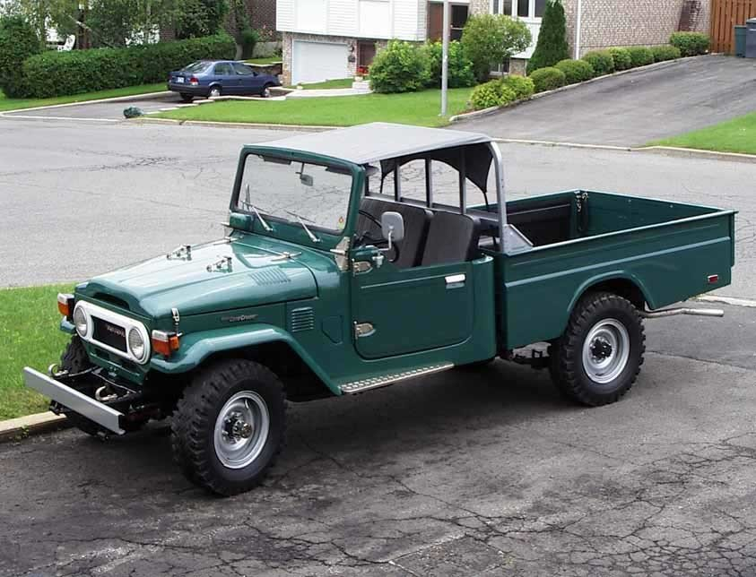 1977 Toyota FJ45 PICK-UP