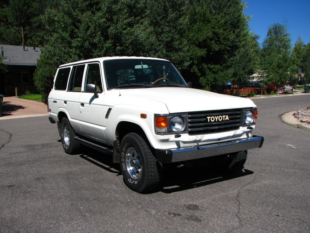 1984 GREAT YEAR TOYOTA LHD FJ60 4 DOOR