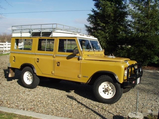 1972 Land Rover SERIES III - 109 SAFARI WAGON