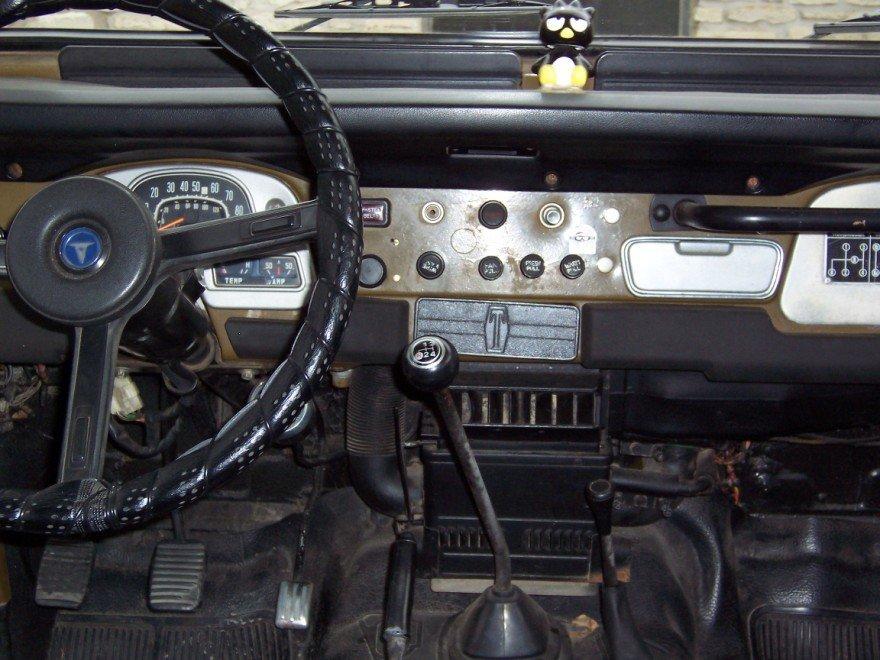 1980 Toyota FJ40 POWER STEERING