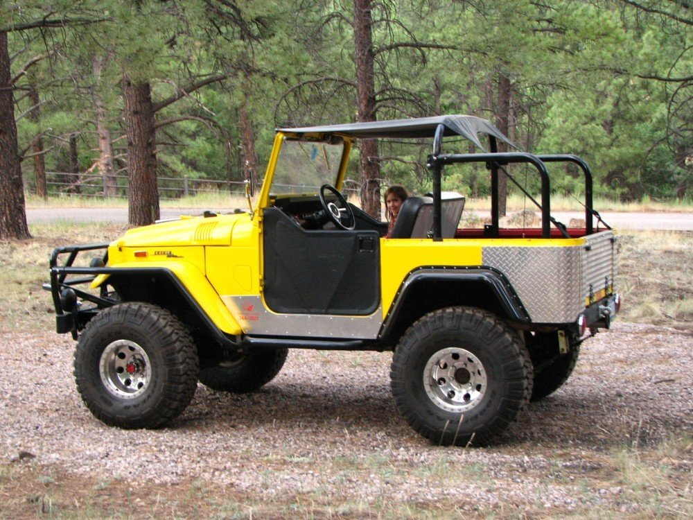 1968 Toyota FJ40 SUPER CHARGED V8 AUTO