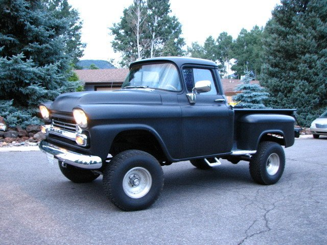 1958 Chevrolet 4x4 PICK-UP