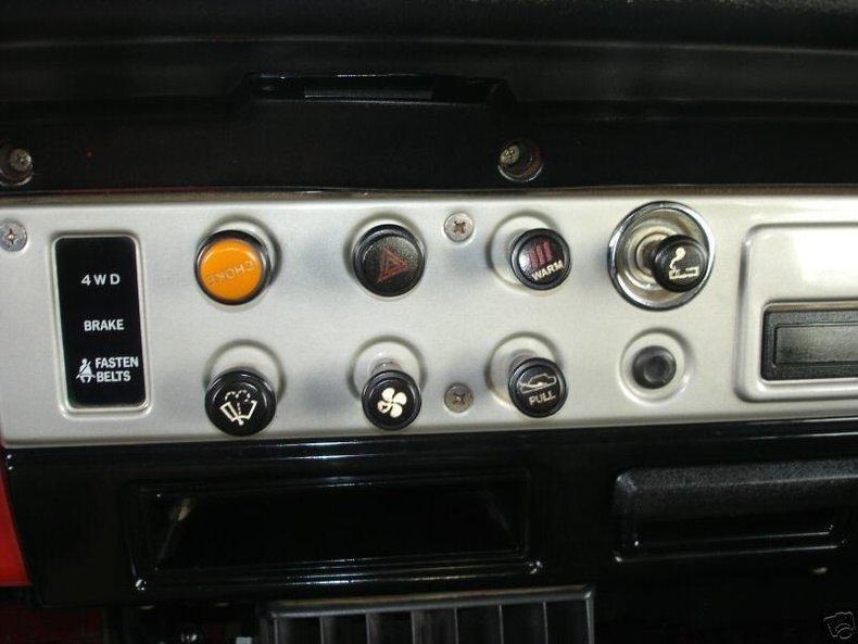1983 LAST YEAR TOYOTA LHD US MODEL FJ40