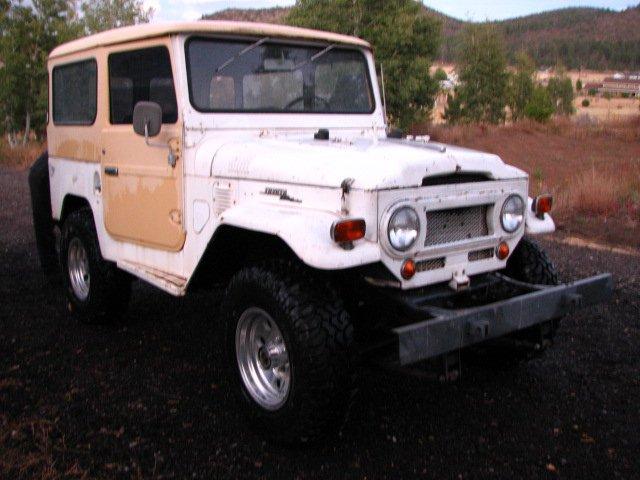1969 TOYOTA LHD FJ40 PROJECT