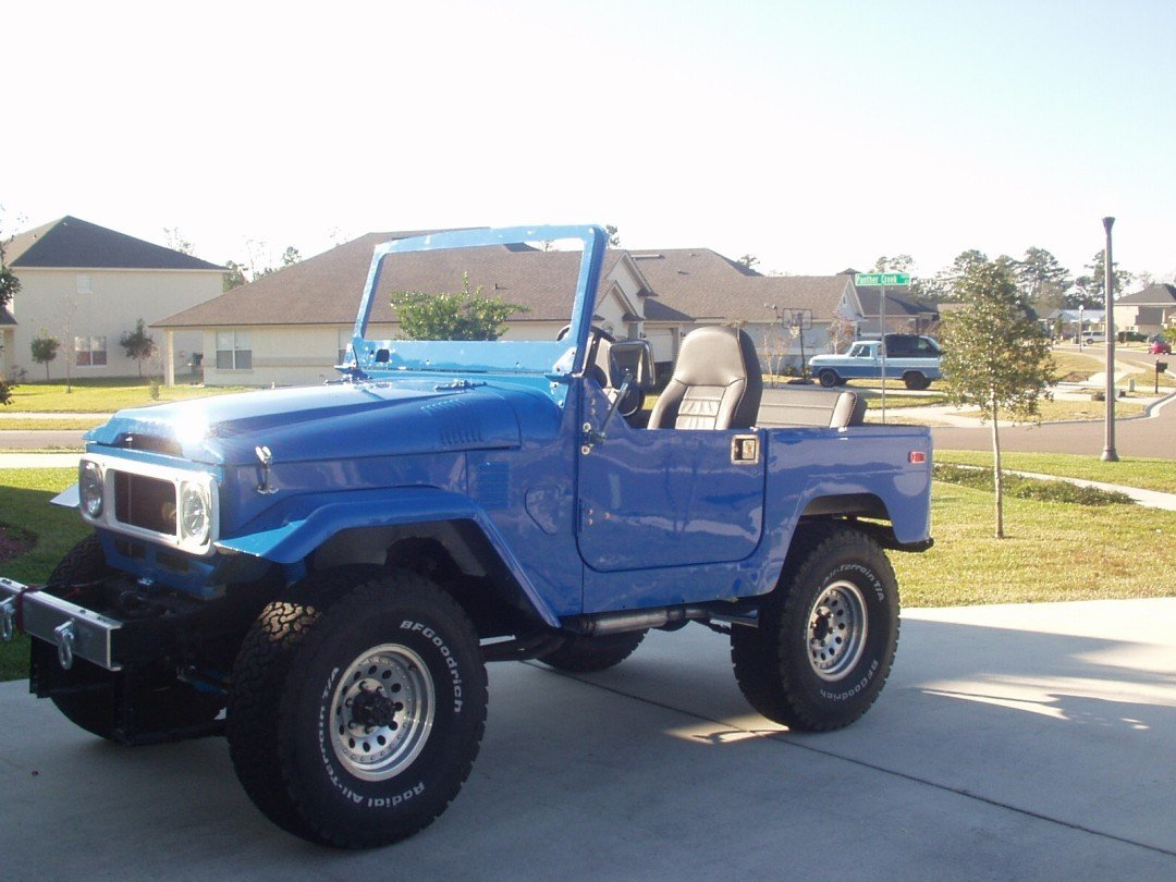 1980 TOYOTA ALL ALLOY BODY FJ40 RESTORATION PROJECT