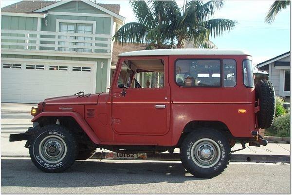 1978 TOYOTA LHD FJ40 STOCK ORIGINAL