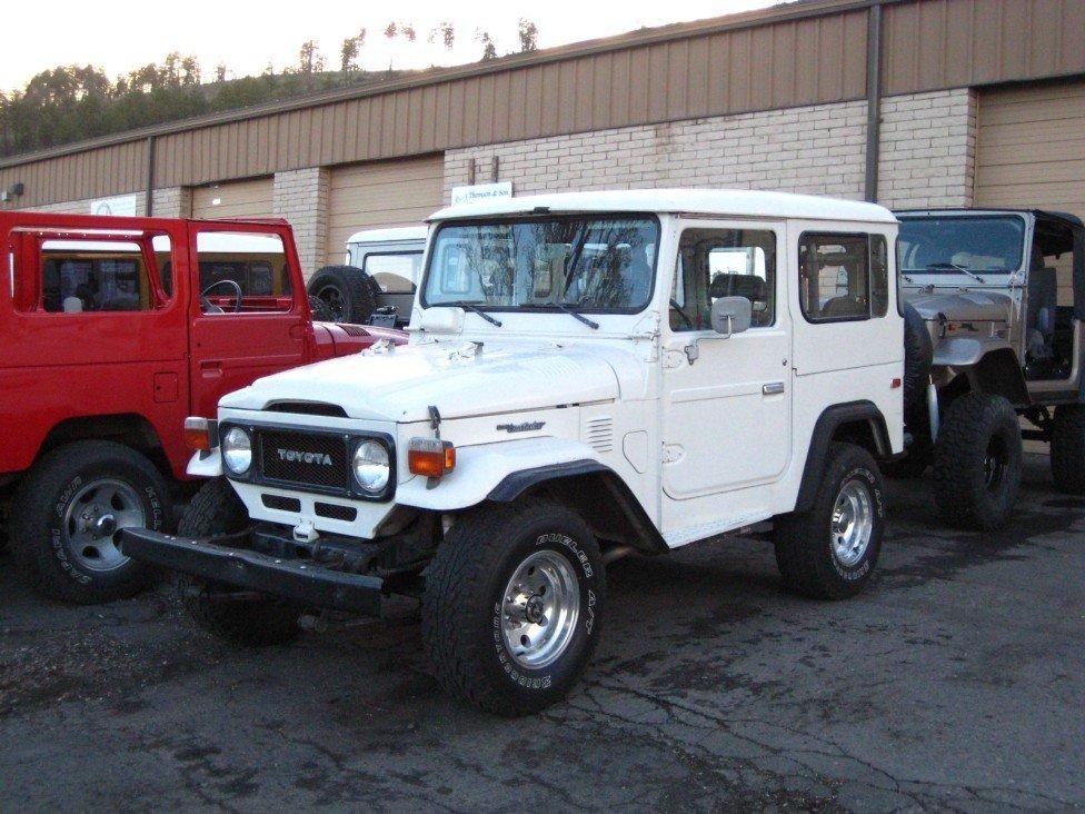 1982 TOYOTA LHD US MODEL FJ40