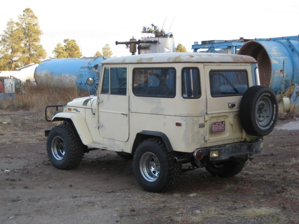 1970 TOYOTA LHD FJ40 STOCK W 1975 UPGRADES