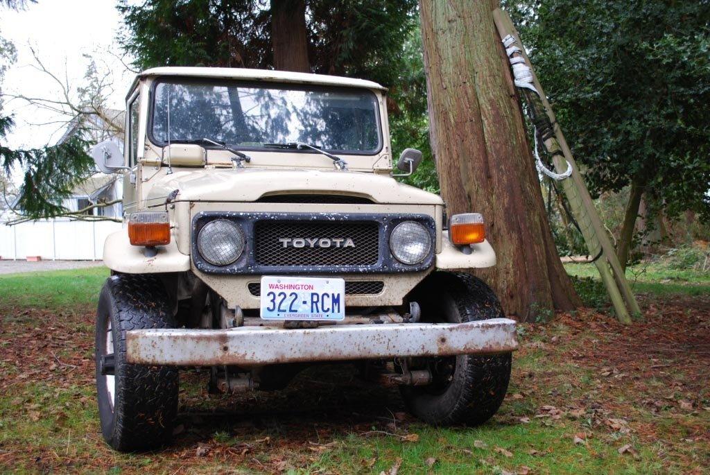 1983 LAST YEAR TOYOTA LHD FJ40 STOCK PROJECT