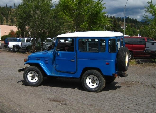 1983 LAST YEAR TOYOTA LHD FJ40 PROJECT