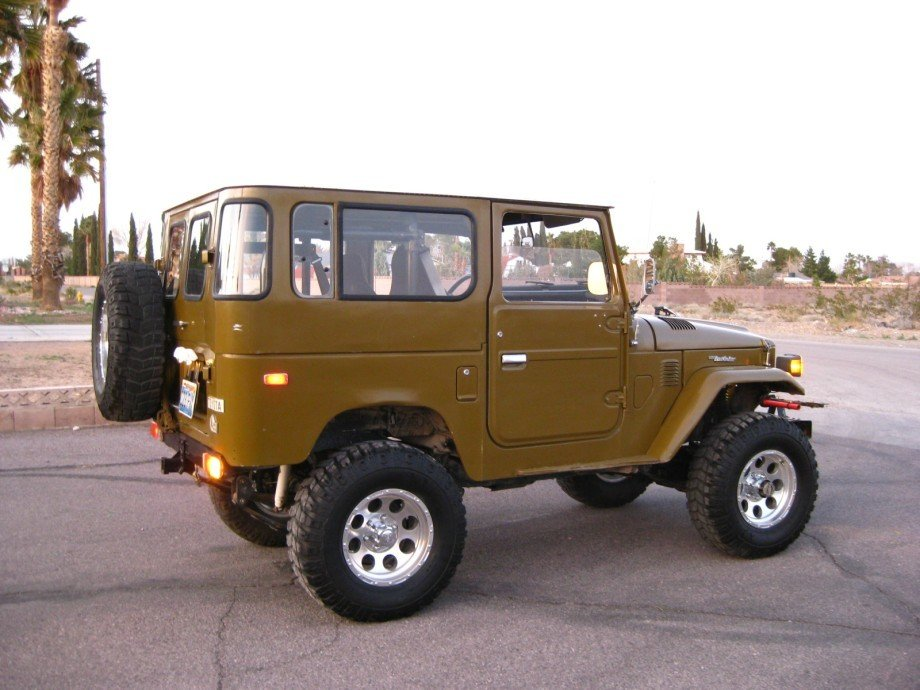 1977 TOYOTA LHD FJ40 UPGRADES INJECTION