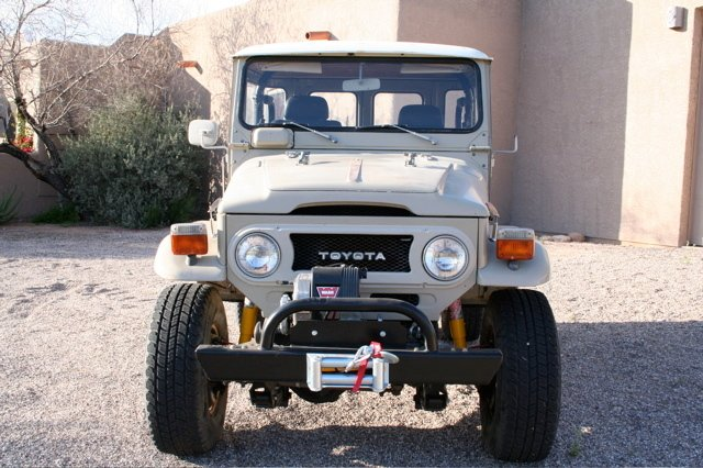 1978 TOYOTA LHD FJ40 CUSTOM V8 LOADED!
