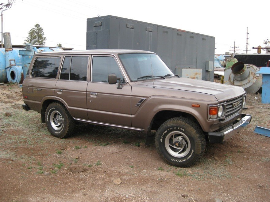 1987 Toyota FJ60 4 Speed Wagon