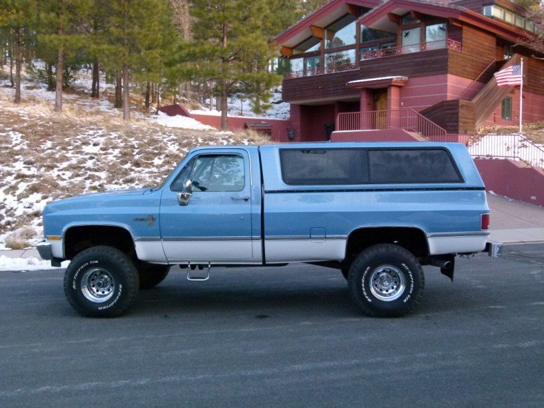 1986 Chevrolet SCOTTSDALE 4x4 C10 LONG BED