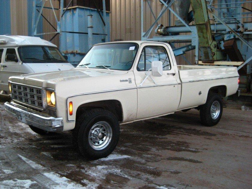 1977 Chevrolet SCOTTSDALE 2500