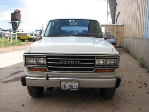 1988 TOYOTA LHD US MODEL FJ62 LOADED AUTOMATIC LOW MILES