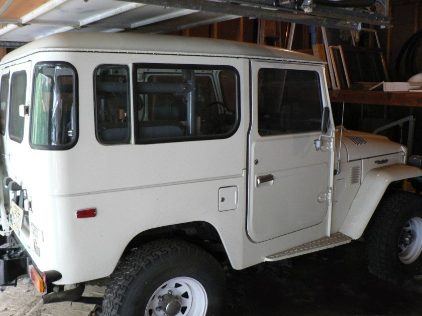 1981 TOYOTA LHD US MODEL FJ40 TWO OWNER LOW MILE