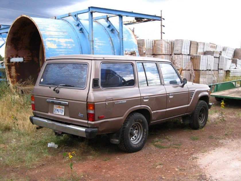 1986 TOYOTA LHD US MODEL FJ60 4 DOOR 4 SPEED