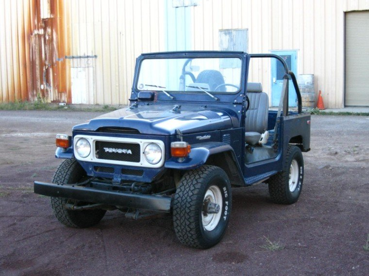1981 TOYOTA LHD US MODEL FJ40 ONE OWNER