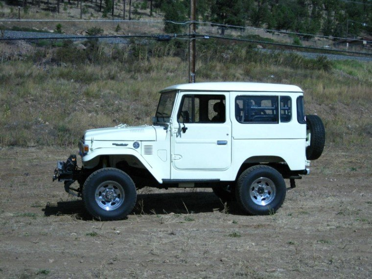 1980 TOYOTA LHD RARE LEFT HAND DRIVE BJ40 PS AC