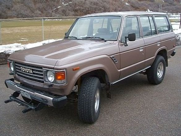 1987 Toyota FJ60 LAND CRUISER WAGON