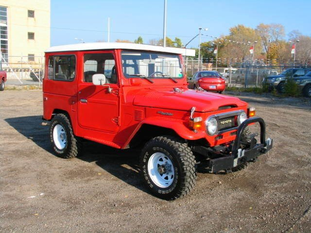 1978 Toyota STOCK FJ40 LOW MILES
