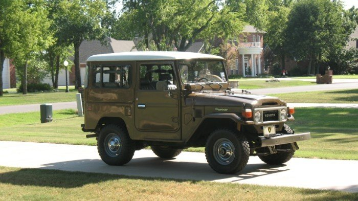 1979 LATE MODEL Toyota FJ40 ORIGINAL