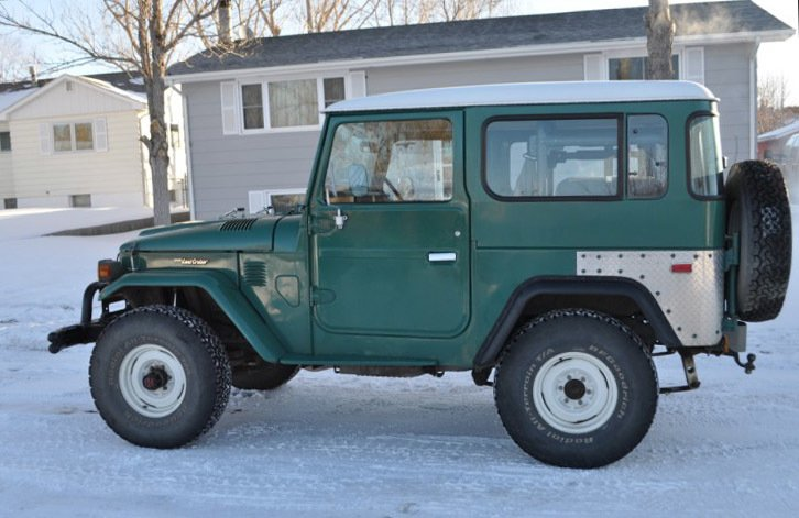 1982 2nd to last year Toyota FJ40 LOADED PS AC