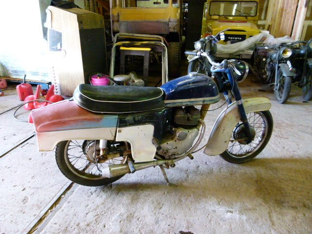 1962 NORTON JUBILEE 250cc