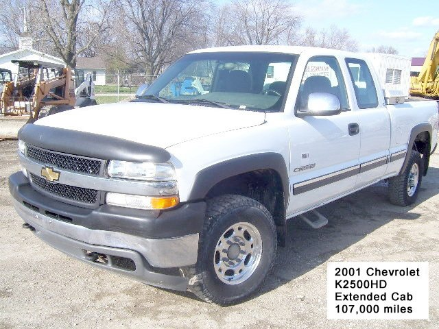 2001 Chevrolet 2500HD EXT CAB 4WD