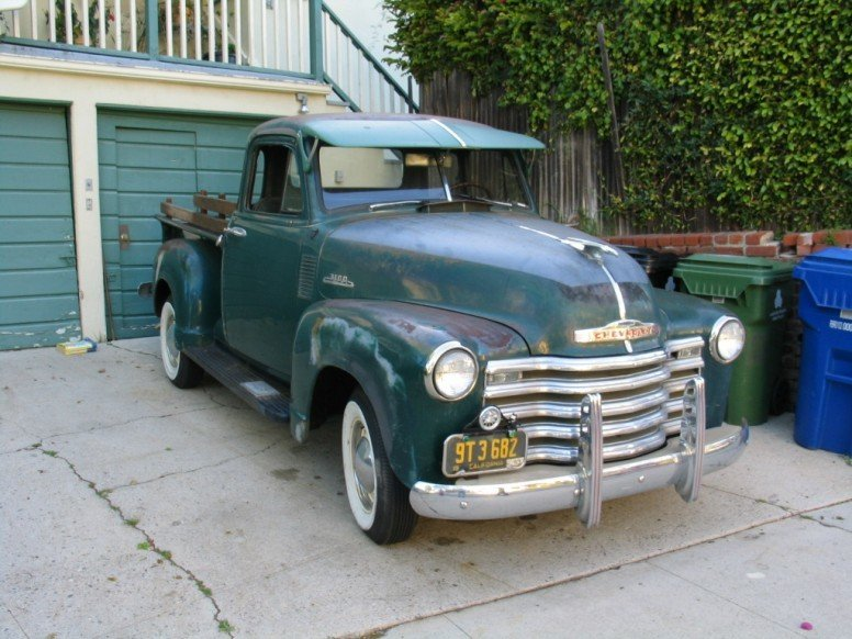 1953 Chevrolet 3100 Half-ton 5 Window Pickup