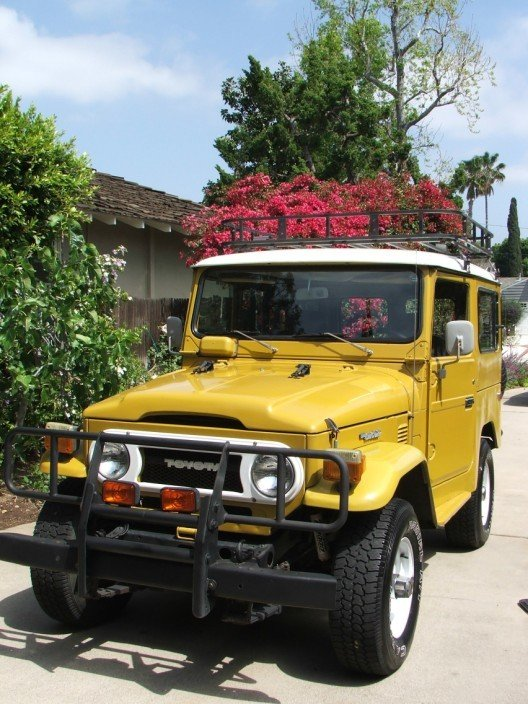 1977 TOYOTA LHD US MODEL FJ40 STOCK