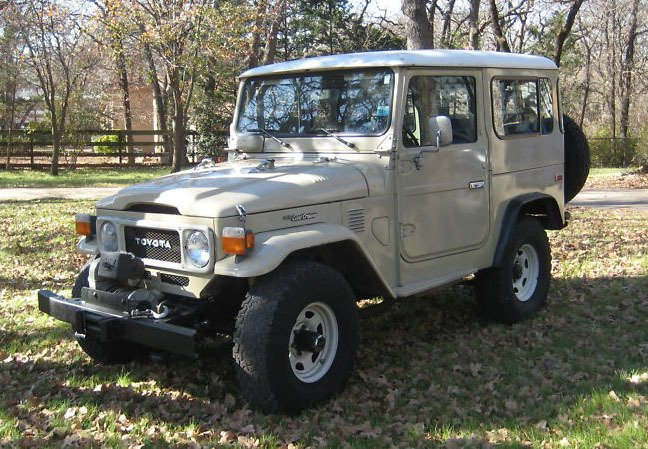 1983 Toyota FJ40 LOW MILES PS