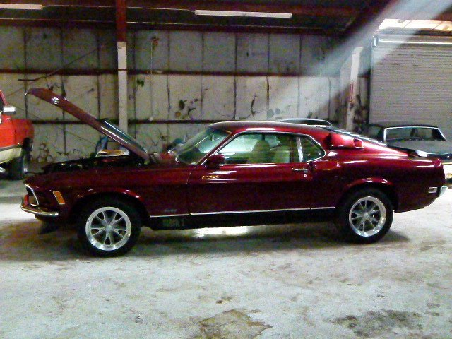 1970 FORD MUSTANG MACH 1 - 351 4V - AUTO - PS - DISCS