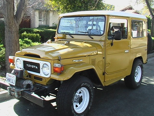 1980 Original Toyota FJ40 Low Miles PS Air Conditioning