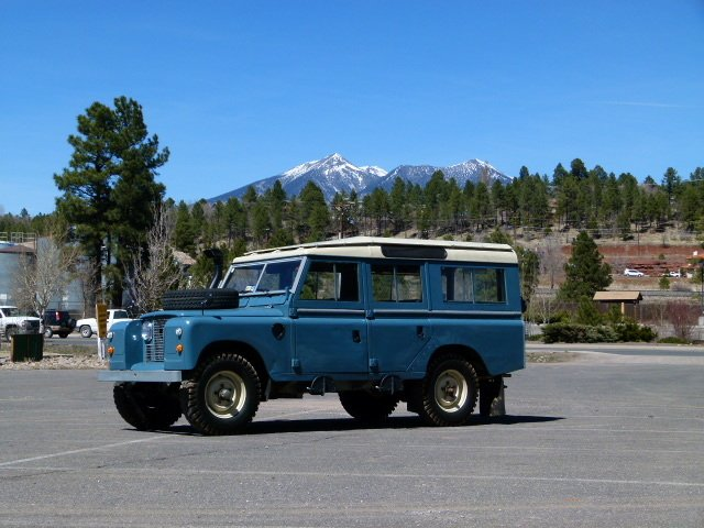 1966 Land Rover 109 5 door Wagon Restored