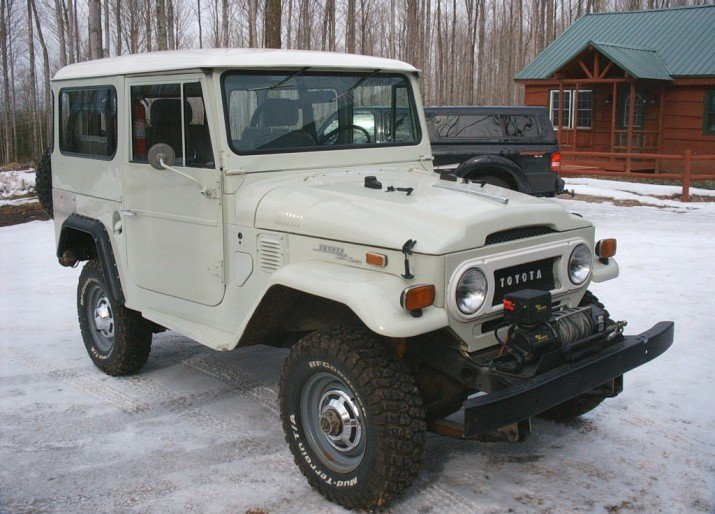 1970 Toyota FJ40 LAND CRUISER MANY UPGRADED & UPDATES