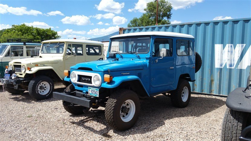 1981 Toyota LOADED ORIGINAL FJ40 POWER STEERING AC