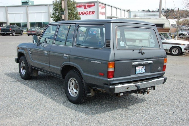 1989 Toyota FJ62 ORIGINAL